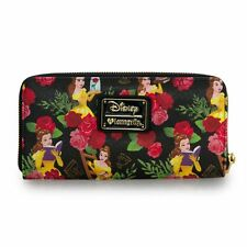 Disney Beauty and the Beast Wallet Belle Wallet Floral Loungefly FALL 2016 NEW!