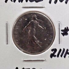 CIRCULATED 1961 1 FRANC FRENCH COIN (21117))1