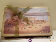 RARE ANTIQUE BISCUIT Cookie Tin Raffles Hotel Singapore Sarkies Bros. 1920's