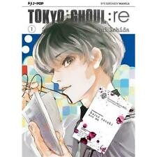 TOKYO GHOUL : RE 1 VARIANT CON GADGET - MANGA J POP - CON SOVRACOPERTA - NUOVO