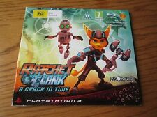 Ratchet & Clank A Crack in Time PROMO – PS3 Review Code & Media Disc ~ Press Kit