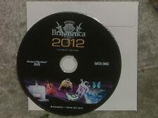 Encyclopedia Britannica Ultimate 2012 DVD