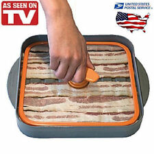BACONBOSS COOKER Bacon Boss Press MICROWAVE or OVEN Cooking Pan as seen on tv