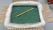 PLASTIC PELLETS GLASS FILLED NYLON, GREEN COLOR, 14 lbs, Can use in a Cat Genie