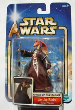 Star Wars SAGA AOTC Jar Jar Binks Republic  Senator MOC E II  316
