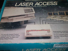 LASER ACCESS QE20 AUTOMATIC PRINTER SHARING DEVICE NEW ORIG BOX