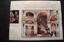 GB 2008 Commemorative Stamps~Cathedrals~M/S~Very Fine Used Set~(ex fdc)UK Seller
