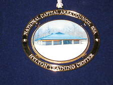National Capital Area Council 2001 Hylton Training Center Christmas Ornament eb1