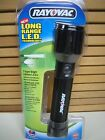 Rayovac 7-LEDs LONG-RANGE White LED Aluminum FLASHLIGHT, RED or BLUE Housing Ava
