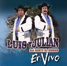 Del Norte Al Mundo...En Vivo by Luis y Julian (CD, Brand New Ships Fast !
