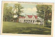 Halifax Golf and Country Club NS Nova Scotia Vintage Postcard