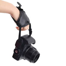 PU Leather Soft Camera Hand Grip Wrist Strap for Canon Nikon Sony SLR/DSLR SY