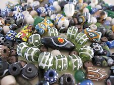 245 bead lot - Venetian glass African trade beads - gemstone - pearl - SURPRISE