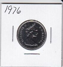 1976 Canada Nickel 25 Cent coin From Double Dollar Set