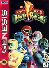 Mighty Morphin Power Rangers Sega Genesis ---cart only