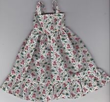 Doll Clothes-Beautiful Floral Print Sundress fits Barbie-Homemade SD5