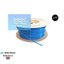 """GPC Schlauch blau 1/4"""" von John Guest für Umkehrosmose, Wasserfilter, Kühlschran"""