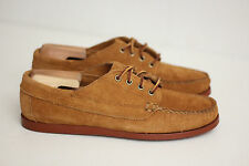 Oak Street Bootmakers Peanut Suede Brick Sole Trail Oxfords - Size 8 D (Y50)