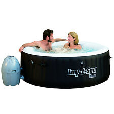 Bestway Lay-Z-Spa 71 x 26 Inch Inflatable Portable 4-Person Spa Hot Tub | 54124