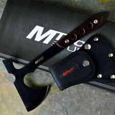 "MTECH 10"" Black Tactical Survival Throwing Wood Handle Axe Hatchet Hawk Tomahawk"