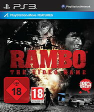 SONY PS3 Rambo The Video Game MOVE Features komplett OVP günstig gebraucht TOP