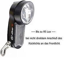 LED Fahrradscheinwerfer bis 95 LUX von Herrmans H-One-S-Sensor
