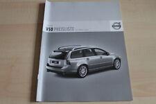 106376) Volvo V50 - Preise & Extras - Prospekt 03/2007