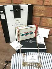 ANYA HINDMARCH SNAKESKIN RETRO WRIGLEYS SPEARMINT GUM BOX CLUTCH RETAIL £995