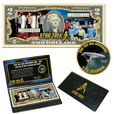 "Star Trek"" Crew & Enterprise Coin & Currency Collection"