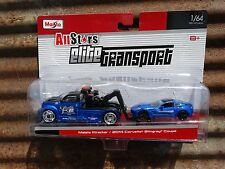 Maisto Elite Transport Maisto Wrecker 2014 Corvette Stingray Coupe 1:64 Scale
