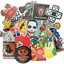 300 Car Stickers Skate Skateboard Laptop Luggage Bicycle Vinyl Decal Pack Lot