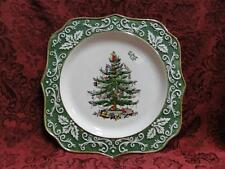 "Spode Christmas Tree, Embossed, Gold Trim: Plate (s), 10"", NEW w/ Orig Box"