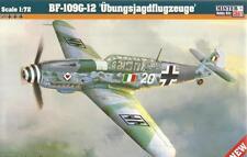 Messerschmitt BF 109 G-12 (italiano & Luftwaffe MKGS) edición limitada de 1/72 MISTERCRAFT