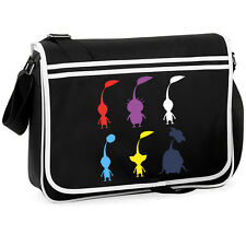 Pikmin Cute College Messenger Shoulder Bag Geeky Gamer Retro