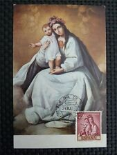 SPAIN MK 1962 MADONNA MARIA MAXIMUMKARTE CARTE MAXIMUM CARD MC CM c1658