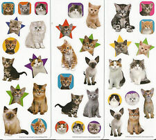 Adorable Cute Kittens Cats Scrapbook Stickers