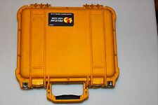 "Pelican 1400 Case with some Foam (Yellow) 13.5""X12""X6 outside measurements"