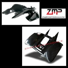 NEW HONDA TRX 400EX 05 - 07 BLACK PLASTIC FRONT AND REAR FENDER SET