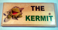 The Kermit Plaque / Sign - Craft Gift - Toilet Muppets Funny Cartoon Frog Loo 49