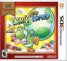 NEW Yoshi's New Island  (Nintendo 3DS, 2014) Selects Cover