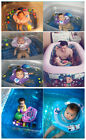 HOT!Baby Inflatable Adjustable Double Protection Collar Swimming Neck Float Ring