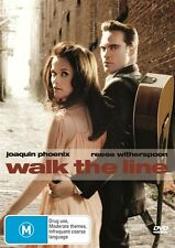 WALK THE LINE DVD R4 PAL Phoenix  / Witherspoon - Johnny Cash