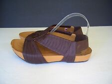 Kalso Earth Shoe Enrapture Brown  Ankle Strap Sandals Sise 9 B