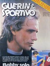 Guerin Sportivo n°4 1983  - con film del campionato - Roberto Bettega   [GS43]