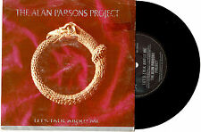 "THE ALAN PARSONS PROJECT - LET'S TALK ABOUT ME - 7"" 45 VINYL RECORD PIC SLV 1984"