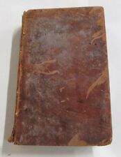 "ANTIQUE BOOK ""GAZETTEER of the UNITED STATES""  by J.E. WORCESTER ANDOVER 1818"