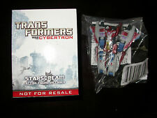 TRANSFORMERS WAR for CYBERTRON UK exclusive legend class STARSCREAM botcon g1