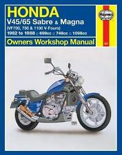 Honda Sabre & Magna V4's '82'86 (Owners' Workshop Manual)