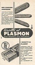 W8846 Biscotti al PLASMON - Pubblicità del 1958 - Vintage advertising