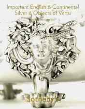 SOTHEBY'S IMPORTANT ENGLISH & CONTINENTAL SILVER & OBJECTS OF VERTU